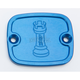 Blue Front Master Cylinder Cover - R-C122-T8