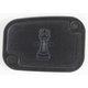 Black Front Master Cylinder Cover - R-C128-TB