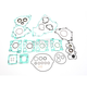 Complete Gasket Kit w/Oil Seals - 0934-5366