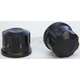 Black Front Axle Covers - R-TAC101-TB