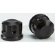 Black Front Axle Covers - R-TAC102-TB