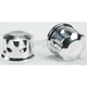 Polished Front Axle Covers - R-TAC102-TP