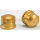 Gold Front Axle Covers - R-TAC102-T6