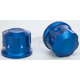Blue Front Axle Covers - R-TAC102-T8