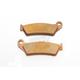 Rear Premium Sintered Metal Brake Pads OEM #41300161 - 1721-2460