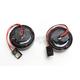 Black Bullet Ringz LED Turn  Signals w/Red Lens for Harley CVO models - BTRB-RR-JAE-R