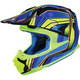 Blue/Green FG-MX Piston MC-2 Helmet