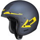Flat Blue/Yellow IS-5 Arrow MC-3F Helmet