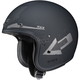 Flat Black/Silver IS-5 Arrow MC-5F Helmet