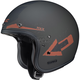 Flat Black/Orange IS-5 Arrow MC-9F Helmet