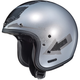 Flat Silver/Black IS-5 Arrow MC-10F Helmet