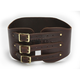 Brown/Brass Long Tall Kidney Belt - KBSBRBR