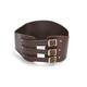 Brown/Brass Long Tall Kidney Belt  - KBXBRBR
