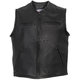 USA Made Premium Steer Leather Vest