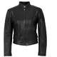 Womens USA Made Vented Leather Jacket
