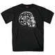 Black Choppers Til You Die Skull T-Shirt