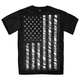 Black Jumbo Black and White Flag T-Shirt