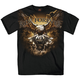 Black Storm Clouds Eagle T-Shirt