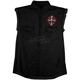 Black Celtic Cross Sleeveless Shirt