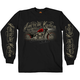 Black American Kustom Long Sleeve Shirt