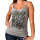Women's Charcoal Angel Can Fly Tank Top