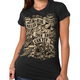 Women's Black Angel Can Fly T-Shirt