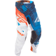 Blue/White/Orange Crux Kinetic Mesh Pants