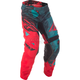 Teal/Red/Black Crux Kinetic Mesh Pants