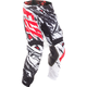 Black/White/Red Relapse Kinetic Mesh Pants