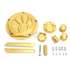Gold Dress Up Kit - R-BK04-6