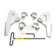 Silver Fats/Slims No-Tool Trigger-Lock Windshield Plate Kit - MEK2021