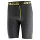 Black/Hi-Viz Vented Riding Shorts