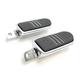 Chrome Speed-Line Footpegs - 24003
