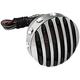 Aluminum Grill Tail Light w/Black Accents - 5904-BBA