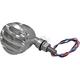 Polished ER Mini LED Finned Turn Signals - 5918-AL