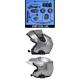Elite BT-03 Series Bluetooth® Headset w/Large-Diameter High-Intensity Speakers for Flip-Up or Open-Face Style Helmet - HSBT-03EL-LDC