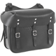 Leather Army Style Side Bag - 6821-BK