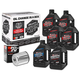 Complete Synthetic Oil Change Kit in a Box w/Chrome Filter - 90-119016C