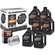 Complete Mineral Oil Change Kit in a Box w/Chrome Filter - 90-069016C