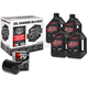 Quick Change Synthetic Oil Kit in a Box w/Black Filter - 90-119014B