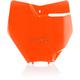 Flo Orange Front Number Plate - 2421124617