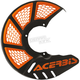 Black/2016 Orange Mini X-Brake Disc Cover - 2630555229