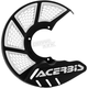 Black/White Mini X-Brake Disc Cover - 2630551007