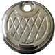 Chrome Platinum Cut Fuel Door - TC-105