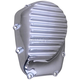 Chrome Finned Cam Cover - C1399-C