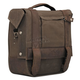 Dark Oak Burly Waxed Canvas Saddlebag - B15-1000D