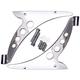 Chrome Crash Bar Bracket Eliminators/Fairing Support Brackets - C0049-C