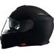 Flat Black Solaris Modular Snow Helmet