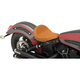 Brown Bobber-Style Front Solo Seat - 0810-1984