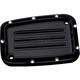 Black Dimpled Front Brake Master Cylinder Cover - C1176-B